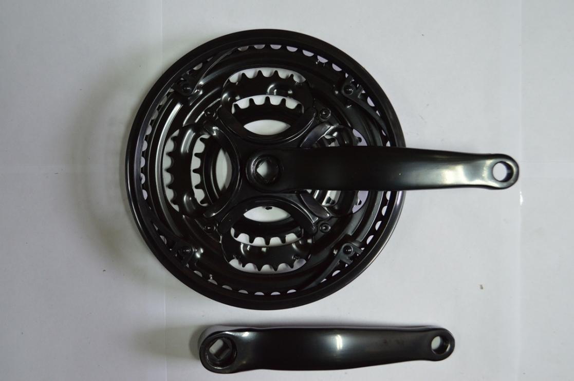 Шатун комплект спорт. GS-S368 28/38/48 сталь, код 41119