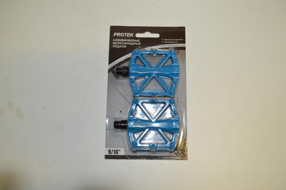 Педаль алюминевая МТВ цветная 3032603-751 инд.уп.